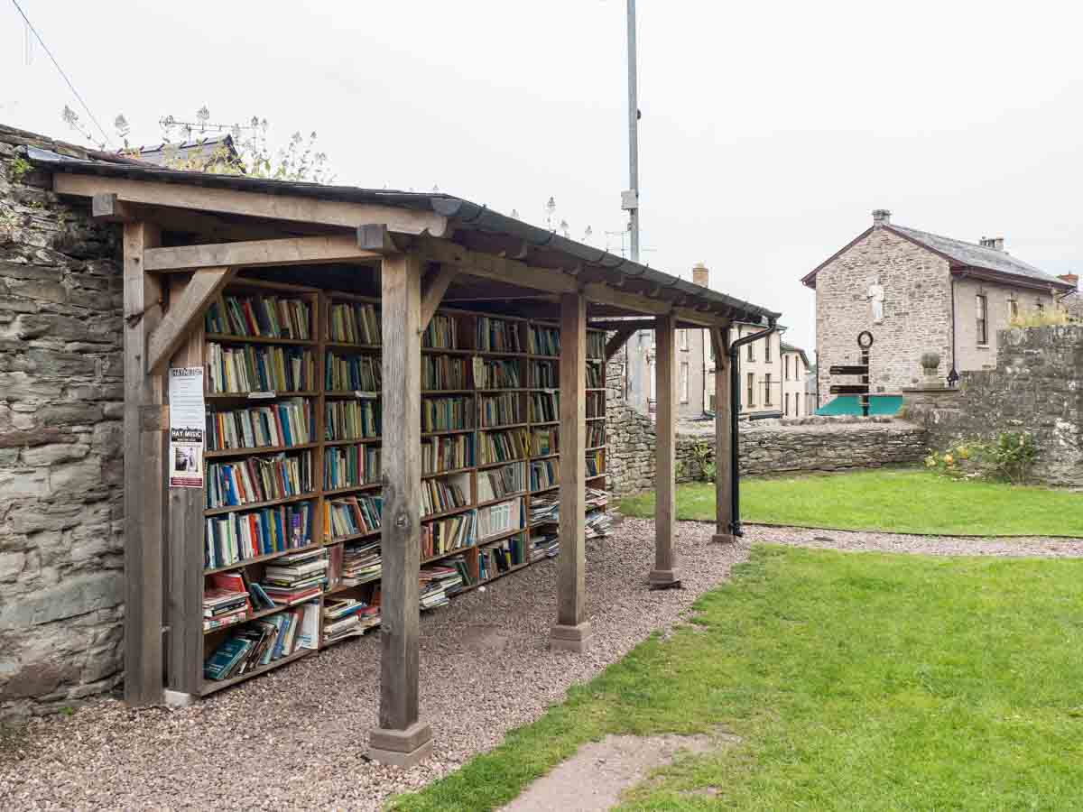 Hay on Wye Bookshop- honor system