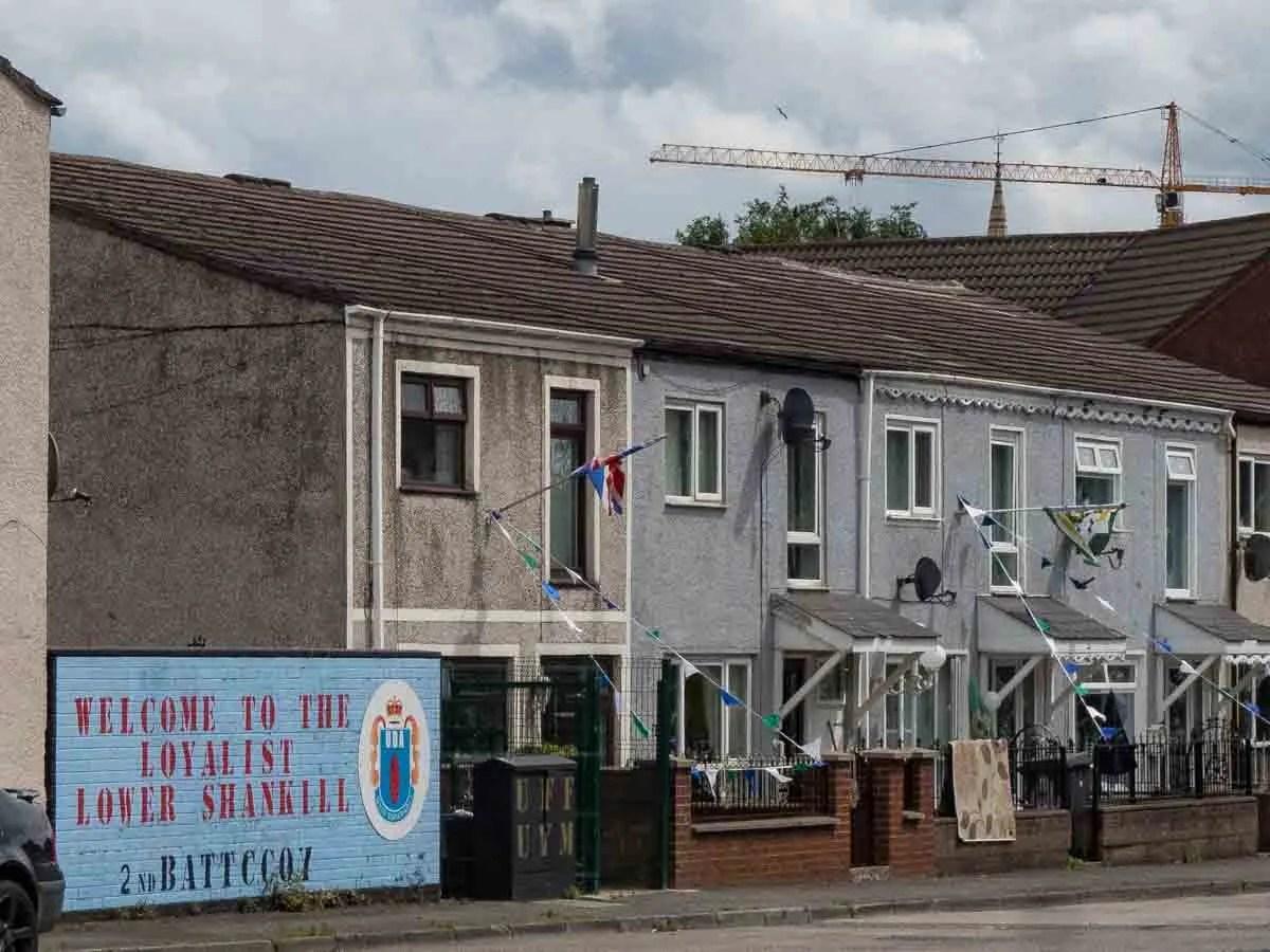 Loyalist Shankill Black Cab Tour Belfast