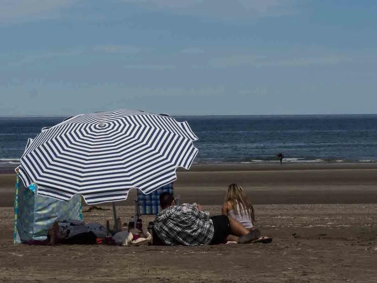 Puerto Piramides Argentina Beach