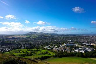 On Top of the World // Arthur's Seat – Edinburgh