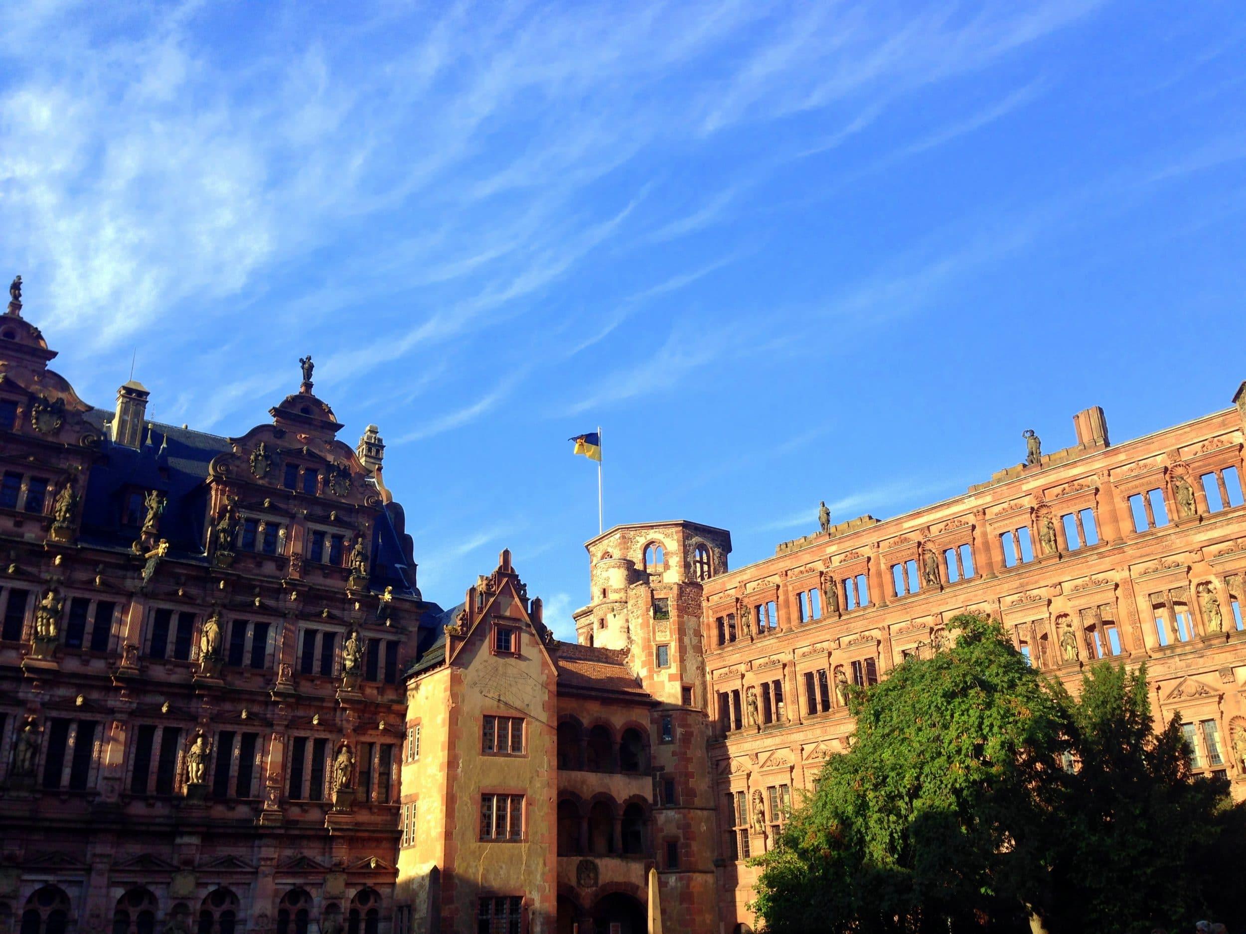 Schloss Heidelberg via Wayfaring With Wagner