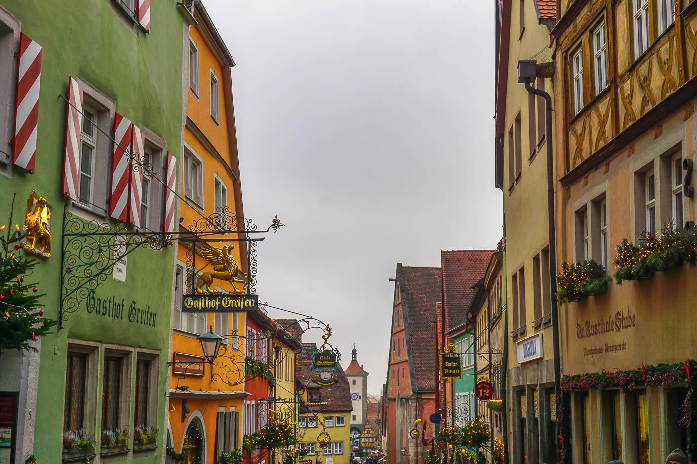 Rothenburg ob der Tauber\'s Christmas Market - Wayfaring With Wagner