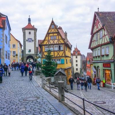 Rothenburg ob der Tauber's Christmas Market