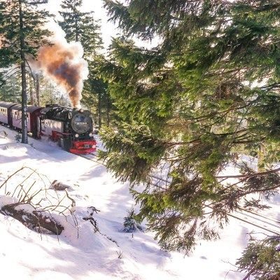 Brockenbahn in Winter // Harz Mountains
