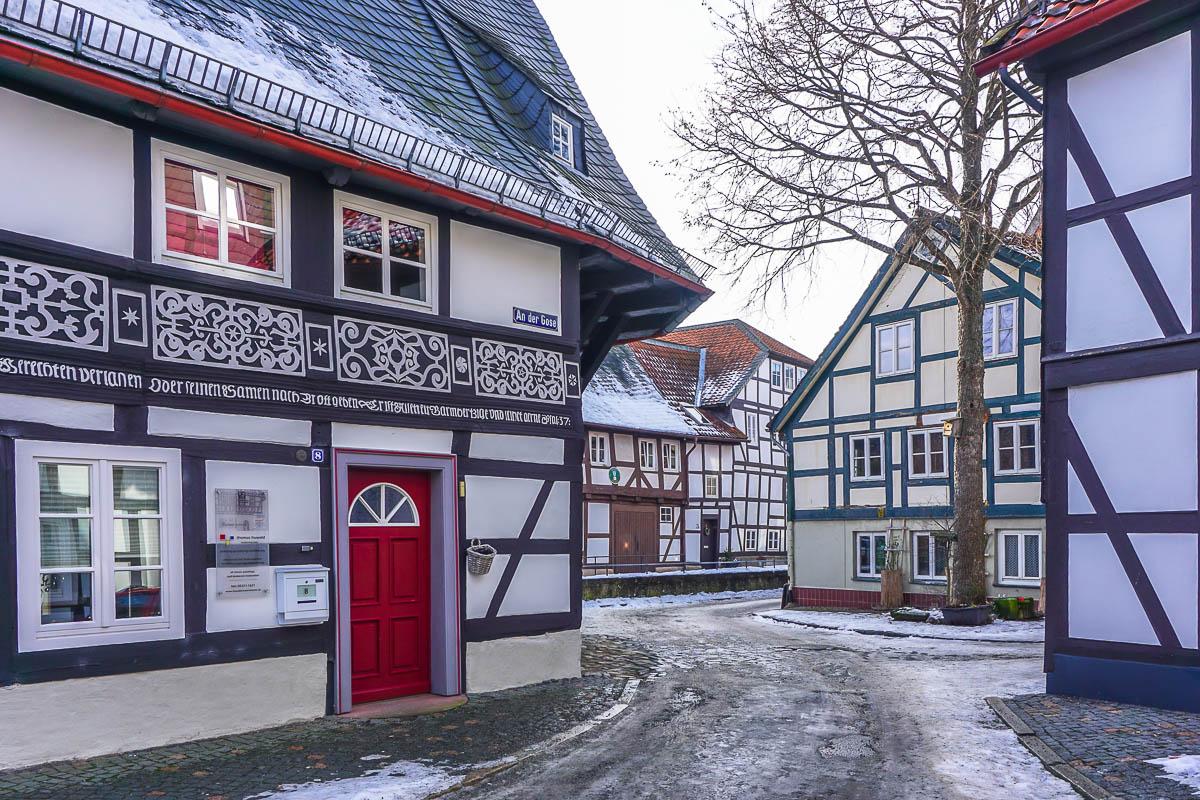 Gingerbread Houses in Goslar via Wayfaring With Wagner