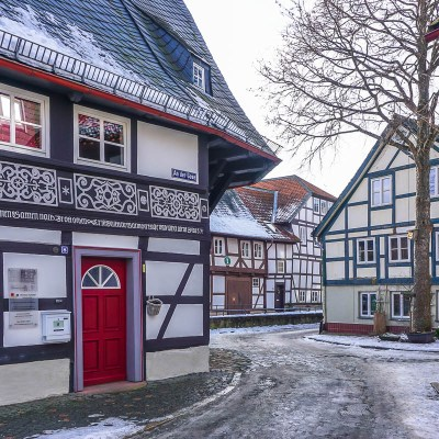 Gingerbread Houses with a Side of Milk // Goslar