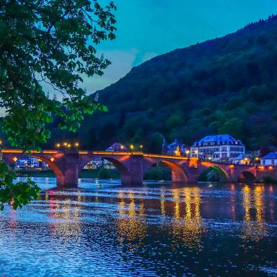Photo Diary: Heidelberg at Night