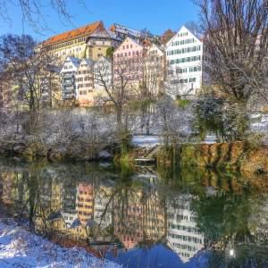 Tübingen in wintertime via Wayfaring With Wagner