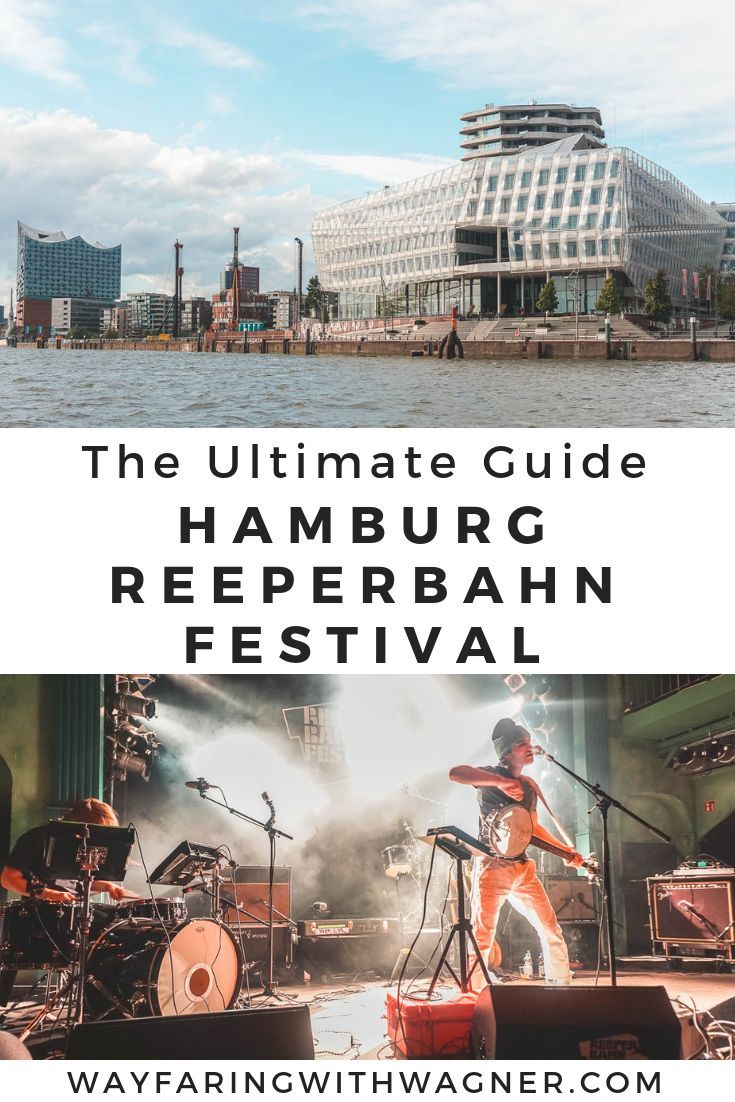 Every year, Hamburg, Germany hosts the Reeperbahn Festival - a multi-venue music festival around the entire city. Check out things to do in Hamburg and the Reeperbahn Festival! #Hamburg #Germany