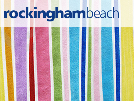 Rockingham beach brand and signage system design