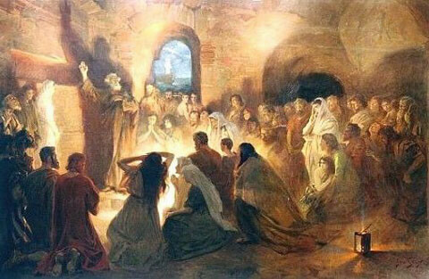 """He stood up and through the Spirit…"""" (Acts 11:28-29) 