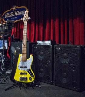 Nate Phillips @ BB Kings Blues Club, 5th Dec 2015 - Peter White's Christmas tour with Mindi Abair & Rick Braun