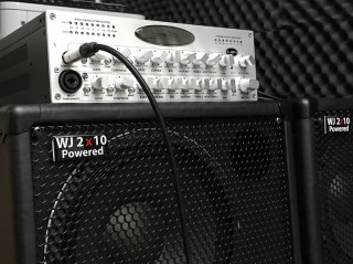 Wayne Jones AUDIO WJBPII Twin Channel Bass Guitar Pre-Amp. 2 Independent channels that also can be used together. Stero/Mono Inputs. Phantom power option. 6 band EQ plus 30hZ boost