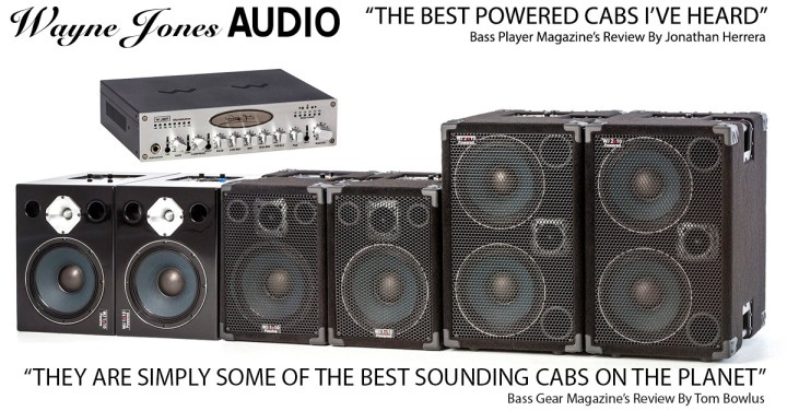 Wayne Jones Audio - High End, High Powered Bass Guitar Cabinets & Preamp