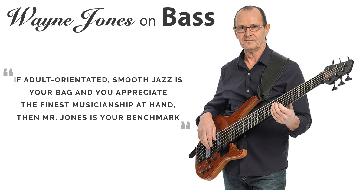 Australian Premier Bass Player, Recording Artist, Writer & Producer, Charting On Smooth Jazz Radio, Dim & Dimmer Recording Label, Wayne Jones AUDIO bass cabs