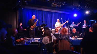 Robyn Payne (piano), Lachlan Davidson (tenor sax), Wayne Jones (bass), Fallon Williams (drums), Rod Little (bass), Jack Pantazis @ Bird's Basement jazz club in Melbourne July 3 2016