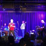 Spyro Gyra @ Bird's Basement jazz club in Melbourne. Bass player  Scott Ambush was using the house WJ 2x10 1000 Watt cabinet .