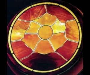 Stained Glass Sun - Richmond, VA ©Cain Art Glass 2016, All Rights Reserved