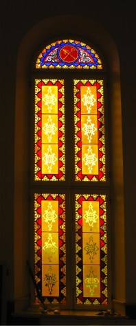 Historic Manor Stained Glass Restoration Chapel Baltimore Maryland