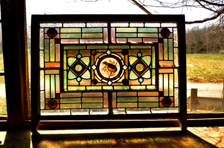 Stained Glass Panel Restoration Washington DC (2)