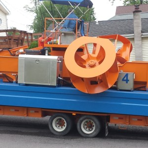 Wayne County Soil and Water Weed Harvester