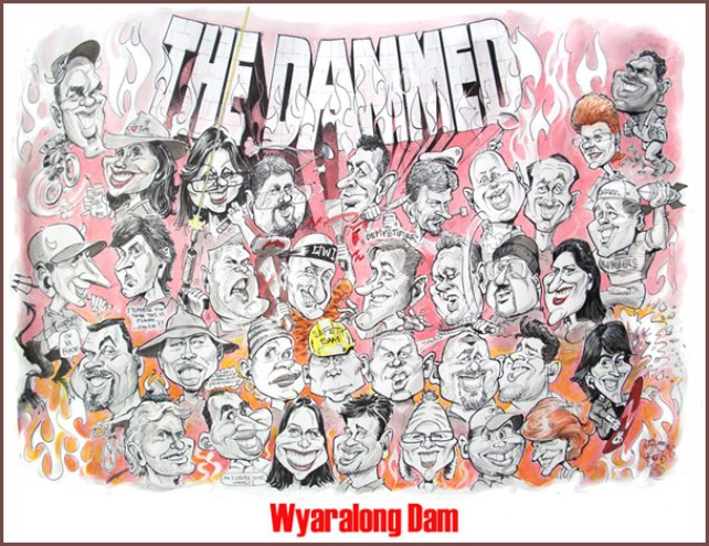 the dammed