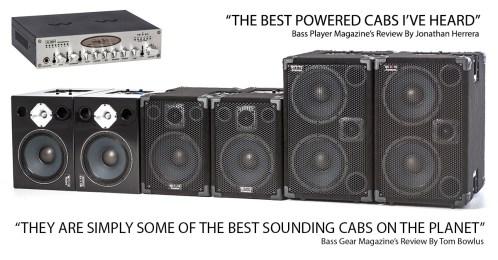 Wayne Jones Audio - Product Range - Powered Bass Guitar Cabinets & Stereo Valve Bass Pre-Amp