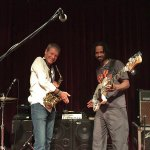 David Sanborn & André Berry (Wayne Jones AUDIO endorsee). Blue Note, Nagoya, October 18 2015