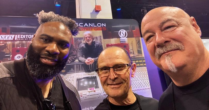 André Bowman, Wayne Jones & Steve Scanlon @ NAMM 2020