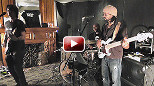 "Captain Danger - ""Cold Sweat""/interlude/""Born On The Bayou"" (live) - André Berry on bass"