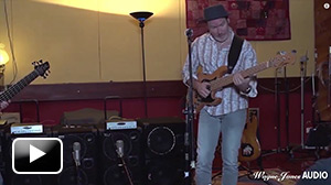Craig Newman using the 1000 Watt WJ 2x10 Powered Bass Cabinet - Wayne Jones Audio
