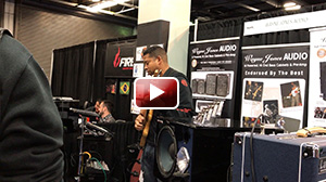 David Dyson performing at NAMM 2017