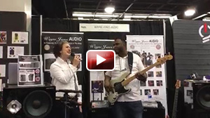 Garrett Body & Ashling Cole performing at NAMM 2017