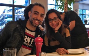 Relaxing in New York after NAMM 2017 with HeaveN Beatbox and friend Jasmine Kaur