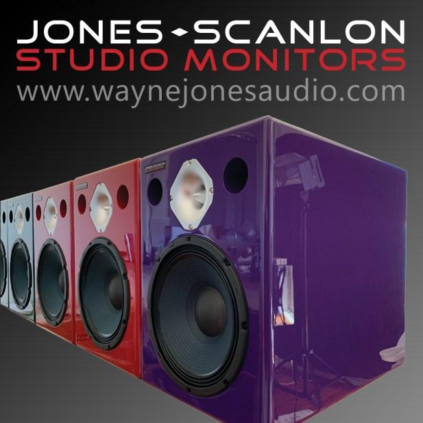 JONES-SCANLON Studio Monitors / Wayne Jones Audio USA February Product Presentations