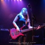Jess Riley, bass player for Australian powerhouse rock trio, Tequila Mockingbyrd
