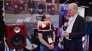 Sound On Sound Magazine interview with JONES-SCANLON Studio Monitors @ NAMM 2020