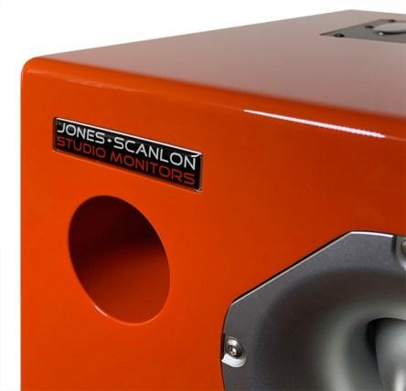 Jones-Scanlon recording studio monitors - audio mastering