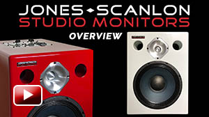 Jones-Scanlon Studio Monitors: Quick Overview