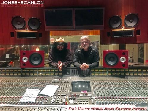 Don Was (Producer) & Krish Sharma (Rolling Stones Recording Engineer)
