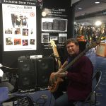 Master Bass builder & educator Neil Kennedy with his new Cole Clark Guitars bass design