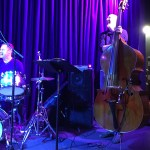 Scott Colley on double bass with the John Scofield Trio @ Bird's Basement in Melbourne