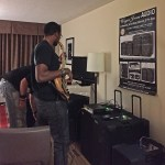 Trying a Wayne Jones AUDIO bass guitar powered speaker rig with a Fodera bass
