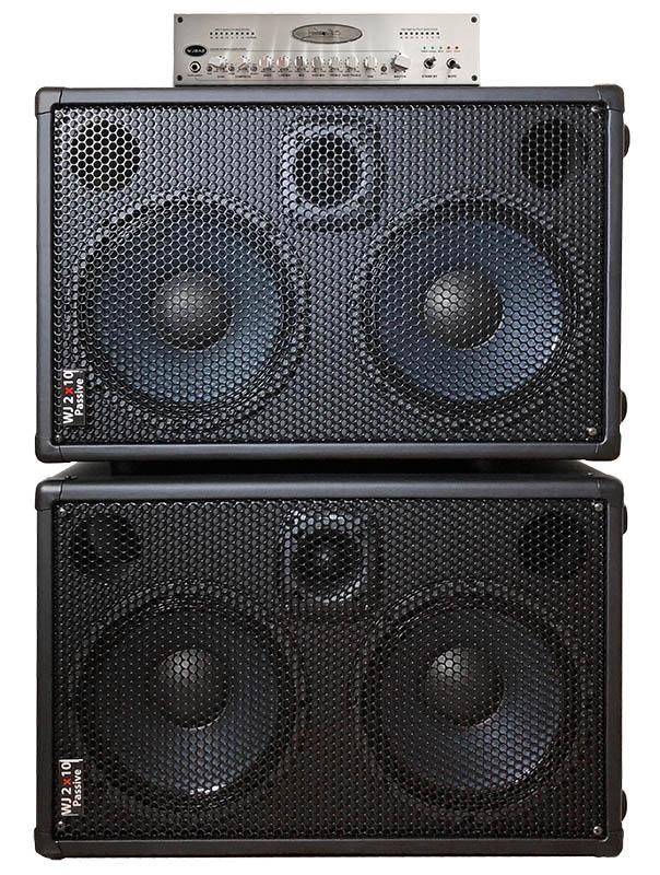 wjba2 1000 watt stereo bass guitar amplifier 6 band eq built in. Black Bedroom Furniture Sets. Home Design Ideas