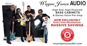 Wayne Jones AUDIO, bass guitar powered bass cabinets, direct from manufacturer, 100% satisfaction guaranteed