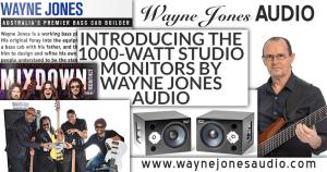 MIXDOWN – Australian music industry magazine features of Wayne Jones AUDIO in April 2016 edition #264