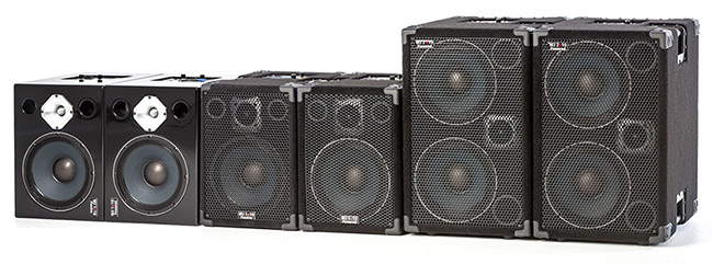 Wayne Jones AUDIO product range. Powered bass rigs for bass guitars