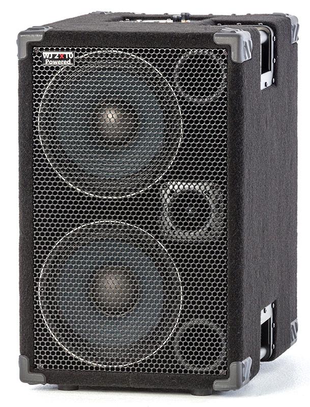 Wj 2 215 10 Powered Bass Cabinet Wayne Jones Audio