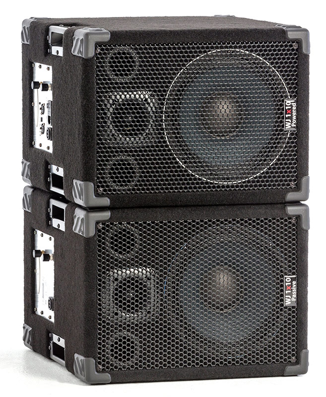 WJ 1×10 Stereo Guitar Cabinets - Wayne Jones AUDIO