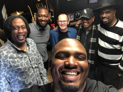 Craig Miller, Isaiah Sharkey, Wayne Jones, Gerey Johnson, Nick Colionne, and in front Garrett Body